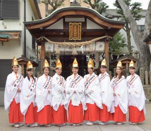 2017年福娘コンテストカバー