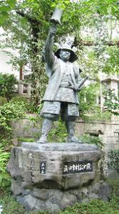 三光神社 真田幸村像